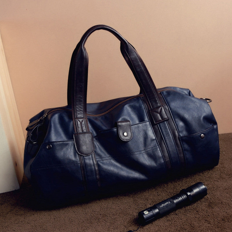 Small Business Men leather travel duffle bag sac de voyage Cossbody Men
