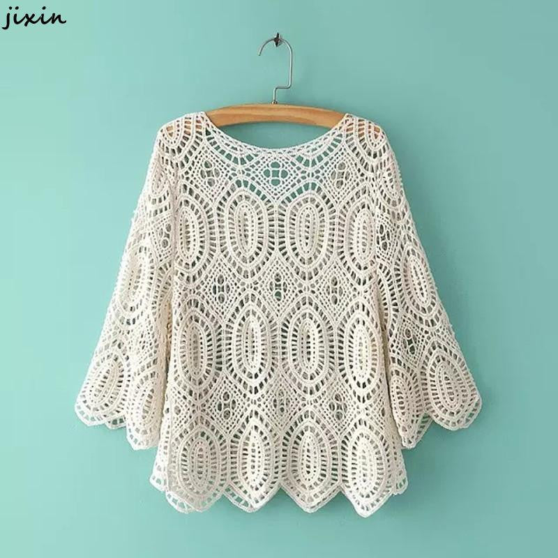 Crochet Blouse Fashion Boho Chic - Hippie BLiss