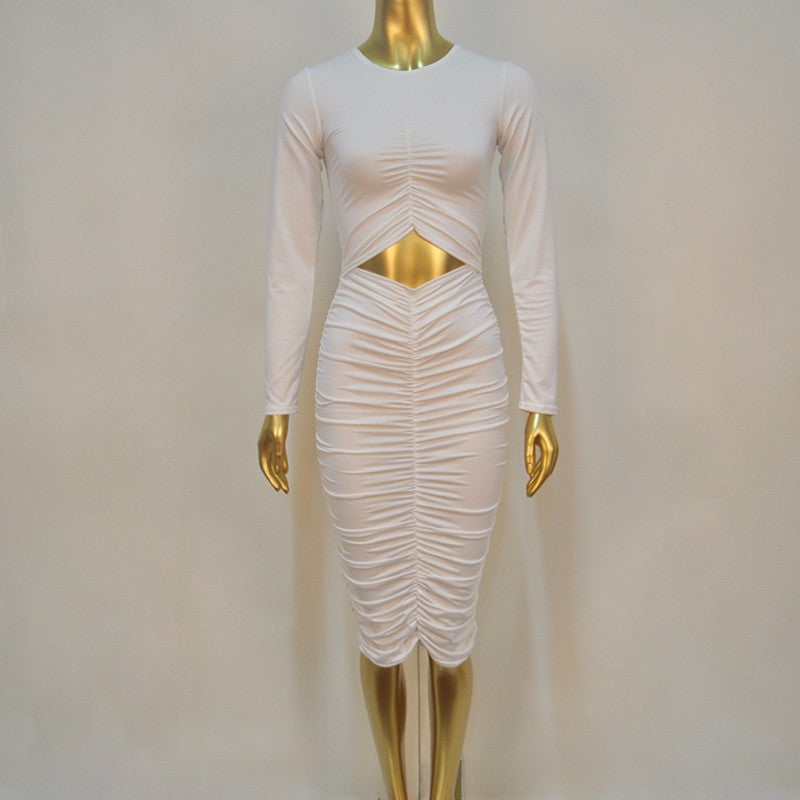 Rushed Bodycon Dress - Clubwear