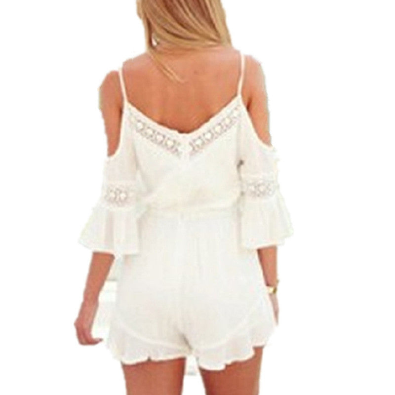 Boho Chic Bohemian Lace Romper Hippie Romper Boohoopearl