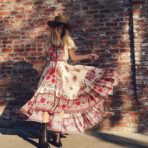 Bohemian Beach Dress - Hippie BLiss
