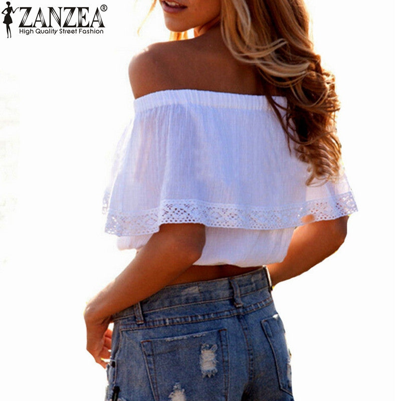 Womens Boho Blouse