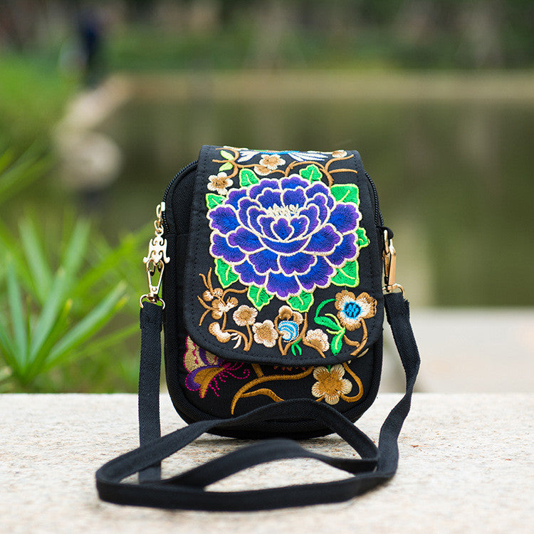 Boho Ethnic Embroidery bag - Hippie BLiss