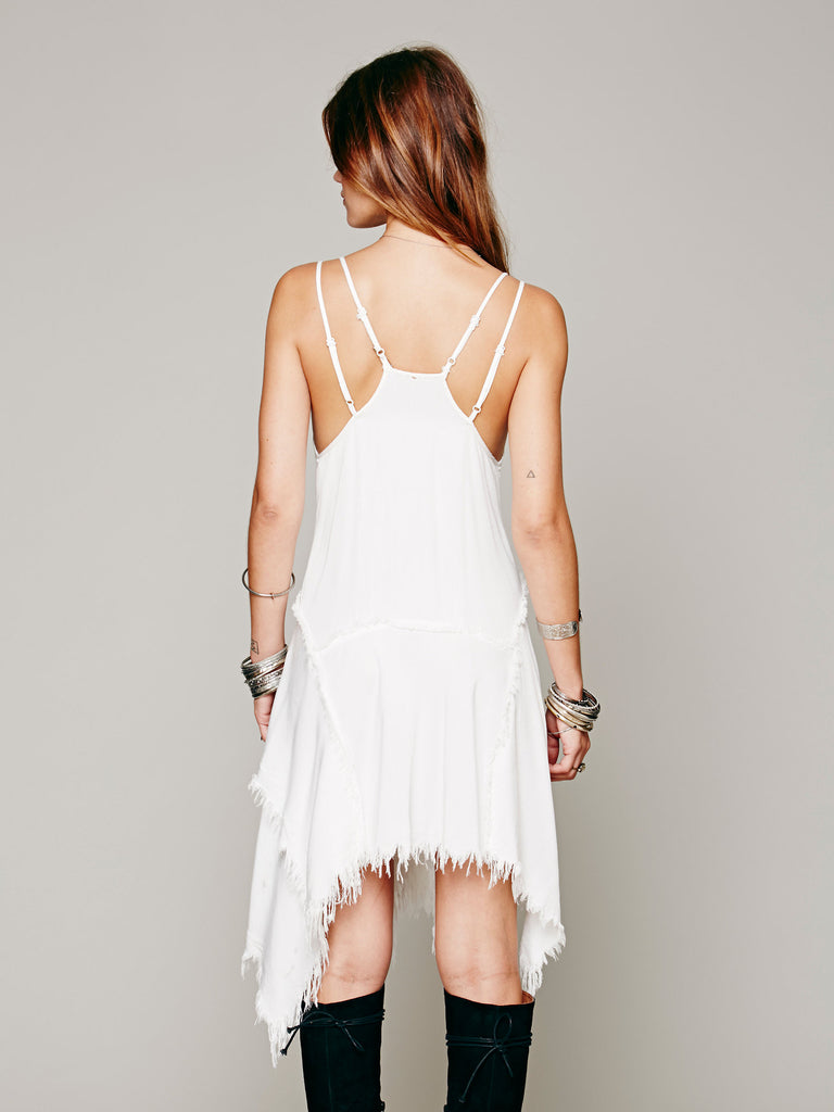 Double Spaghetti Straps Super Soft Racerback Slip Dresses - Hippie BLiss
