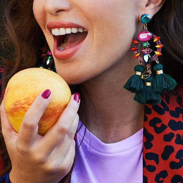 Jewel Statement Earring - Hippie BLiss