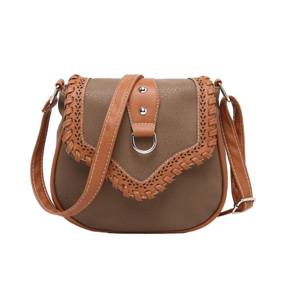 Women Messenger Bags Retro Lady Pu Leather Shoulder