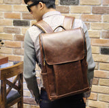 Genuine Men Leather Packbag - Hippie BLiss