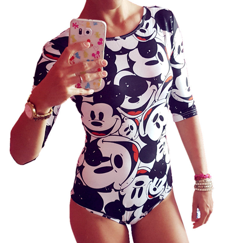 Cartoon Playsuit Bodysuit - Hippie BLiss