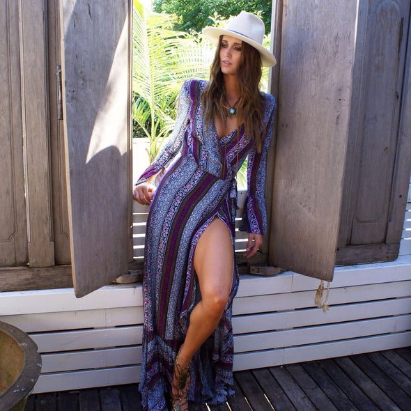 Bohemian Maxi Dress - Hippie BLiss