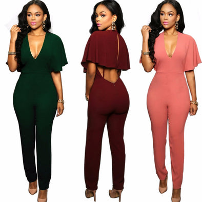 Flare Sleeve Jumpsuit - Hippie BLiss