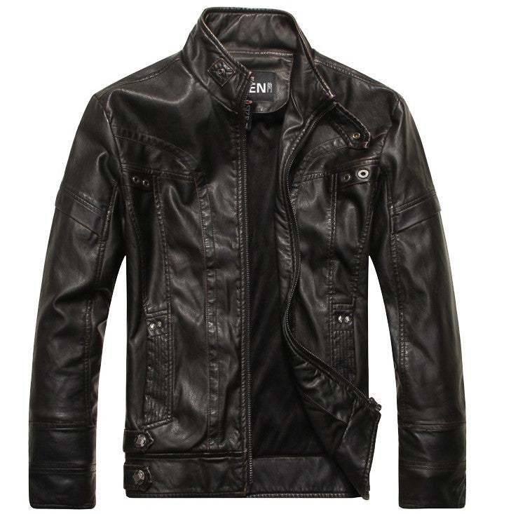 Motorcycle leather jackets men ,men's leather jacket - Hippie BLiss