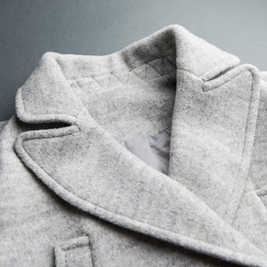 Othermix 2016 winter new classic double breasted wool coat
