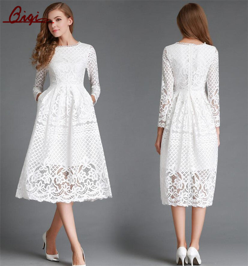 All White Party Dress - Little White Dress u2013 Hippie Bliss