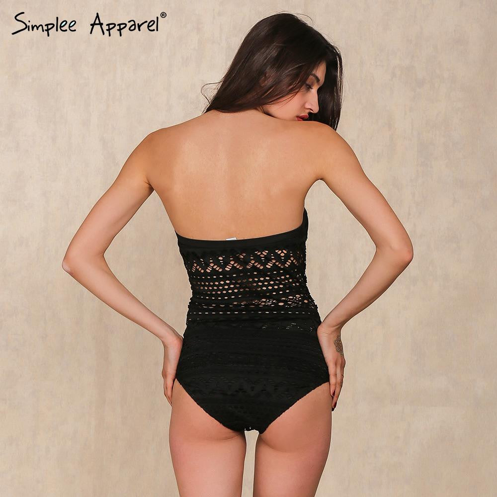lace one piece bodysuit - Hippie BLiss