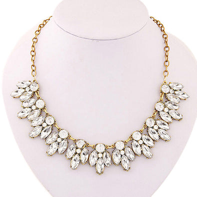 Free Classic Rhinestone Necklace - Necklace - Hippie BLiss