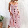 Boho Bohemian Beach Dress Boho Sundress - Hippie BLiss