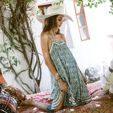 Hippie Maxi Dress - Bohemian Summer Dress - Hippie BLiss
