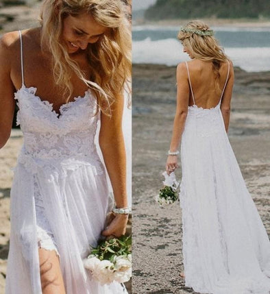 Boho Lace Wedding Dress Bohemian Wedding Boho Bridesmaids Dress - Hippie BLiss