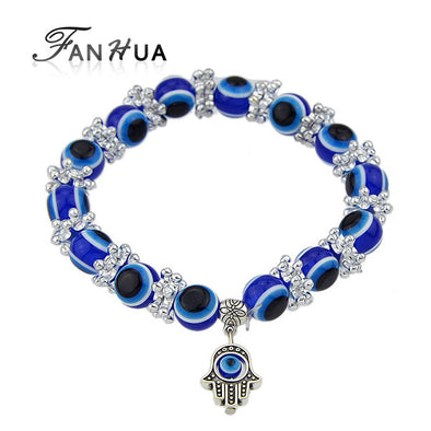 Boho Chic Jewelry Decoration Blue Color Beads Bracelet Pulseiras - Hippie BLiss