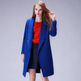 Winter Coat Women Wool Coat Long Women's Cashmere Coat European