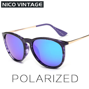 Wayfarer Reflective Sunglasses Black and Gold Sunglasses