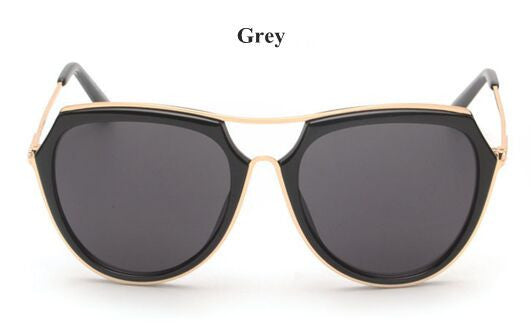 Black and Gold Aviator Wayfarer Sunglasses - Hippie BLiss