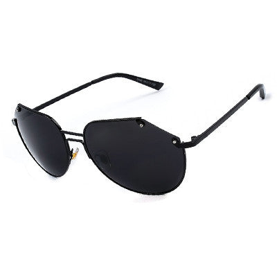All Black Aviator Sunglasses - Hippie BLiss