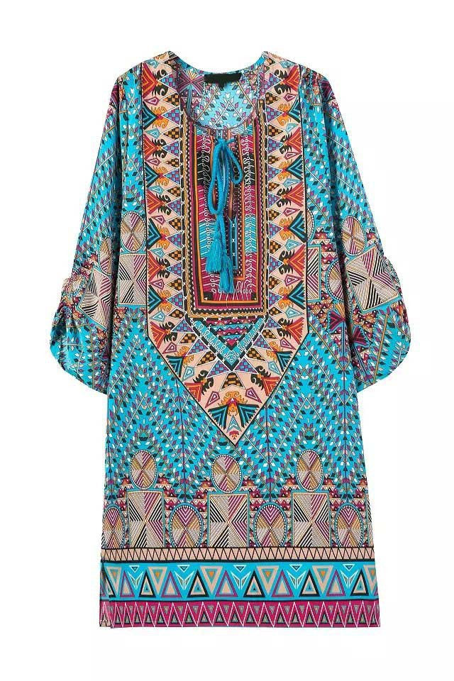 BOHO CHIC SUMMER DRESS BOHEMIAN STYLE HIPPIE FASHION - Hippie BLiss