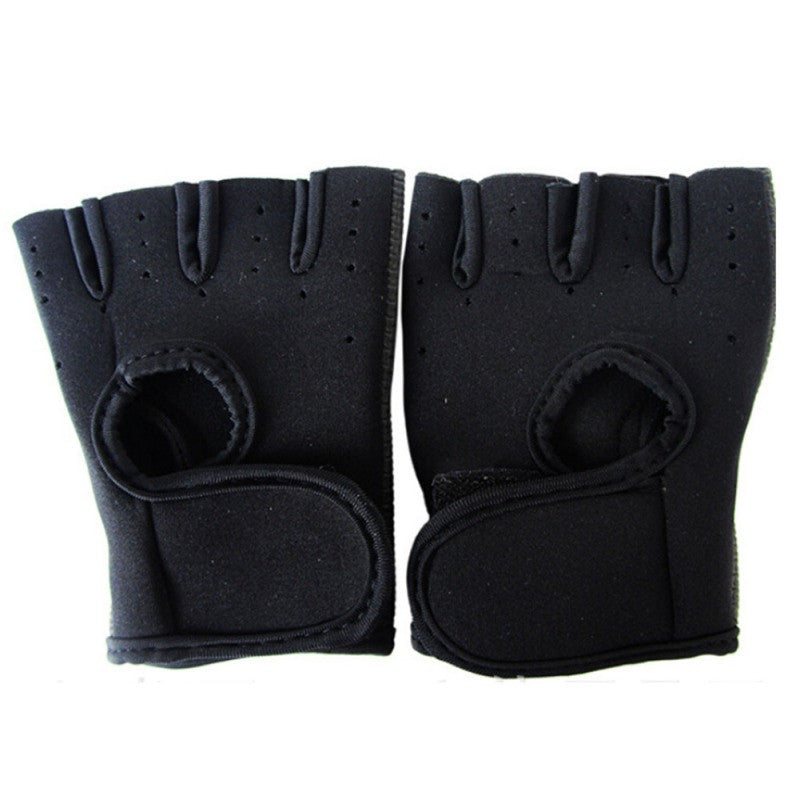 Unisex Weight Lifting Half Finger Gloves