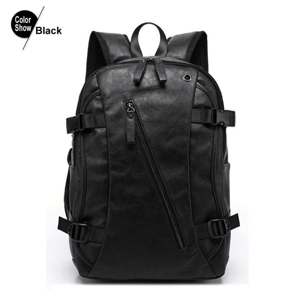 Men's Backpack Tactical Sac A Dos Leather Backpack - Hippie BLiss