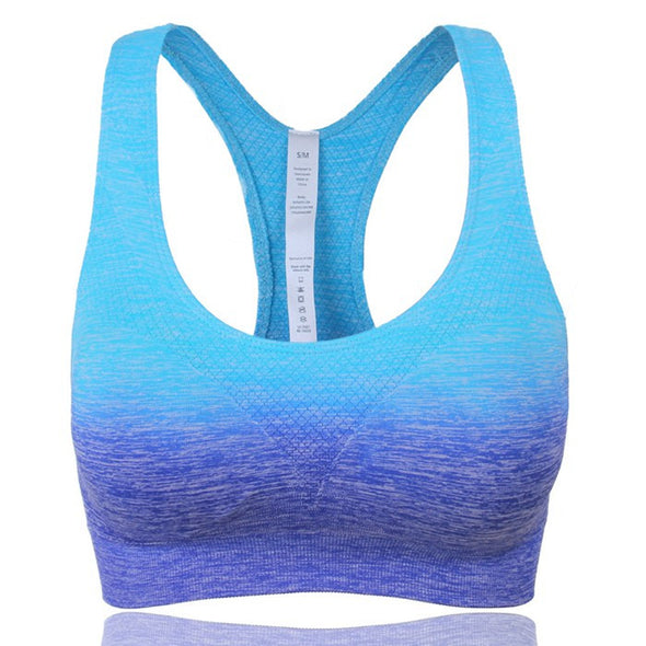 Women Mid Impact Wireless Sports Padded Bra
