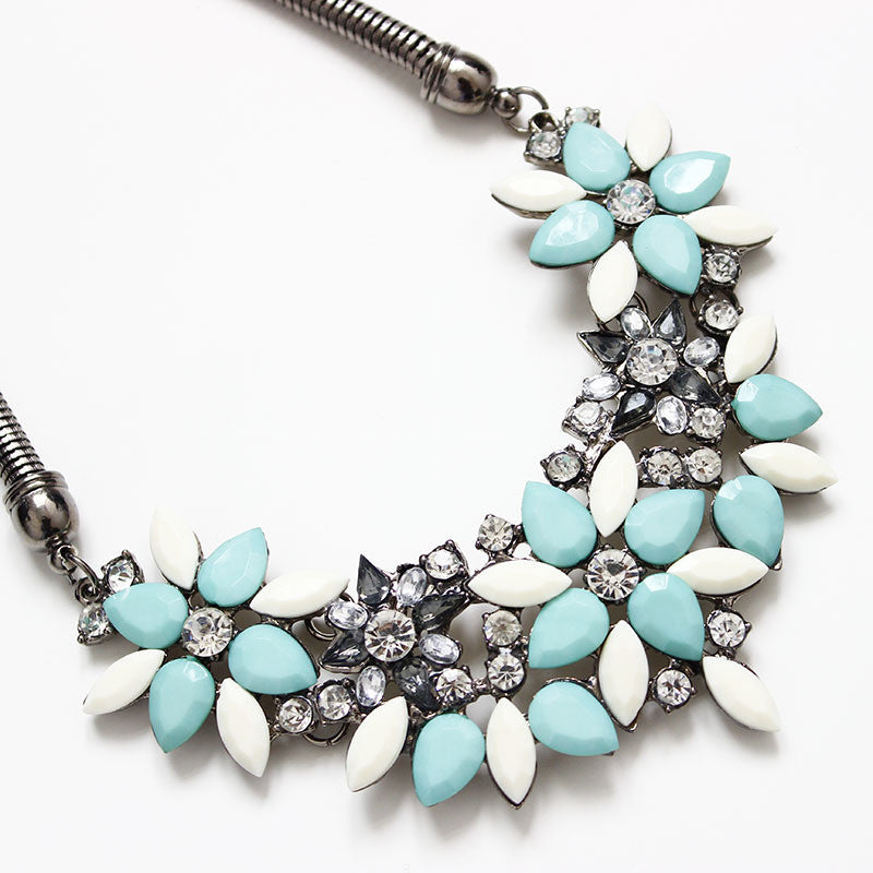 Free Flower Necklace Collar Statement Necklace - Just Pay For Shipping - Hippie BLiss