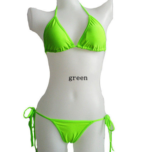Brazilian Bottom Scrunch bandage Bikini Set - Hippie BLiss