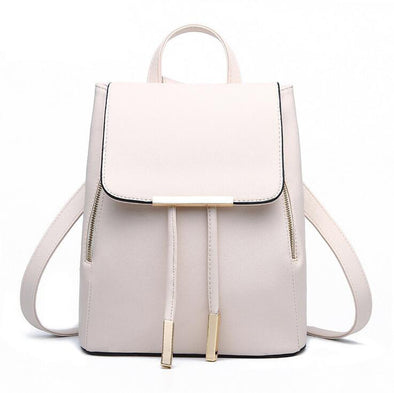 PU Leather Mochila Escolar School Bag - Hippie BLiss