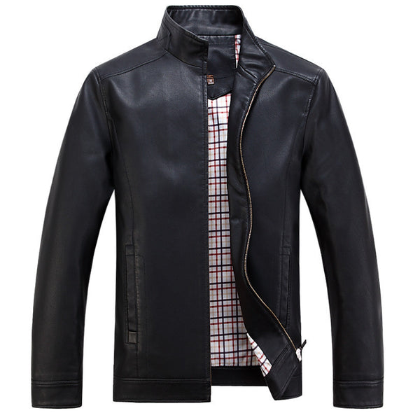 Leather Jackets Men's jacket male Outwear Men's Coats - Hippie BLiss