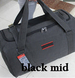 Men Travel Bags Large Capacity Canvas Outdoor Hiking Sport Folding Bag For Trip Waterproof