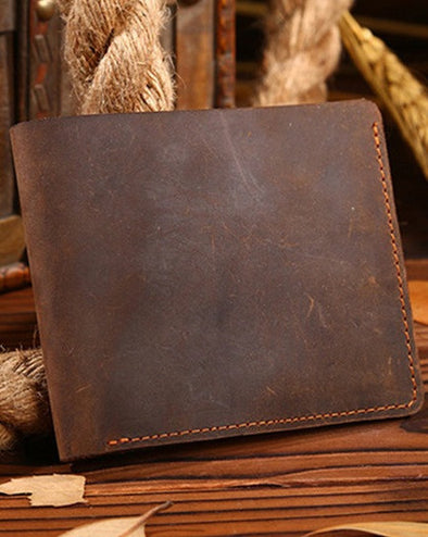 Men Leather Wallet - Hippie BLiss