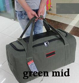 Men Travel Bags Large Capacity Canvas Outdoor Hiking Sport Folding Bag For Trip Waterproof - Hippie BLiss