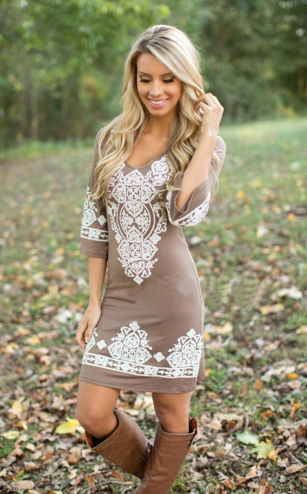 BOHO CHIC SUMMER DRESS BOHEMIAN STYLE HIPPIE FASHION – Hippie Bliss
