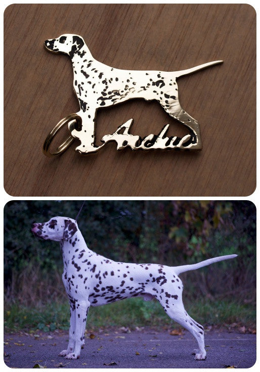 Dog Keyring - Select breed / own dog