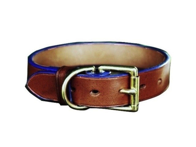 Dog Collar - Blue Edge