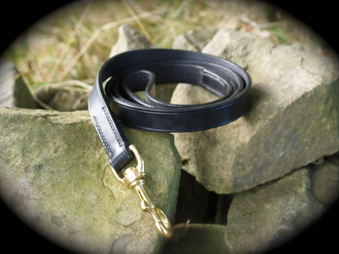 Leather Dog Lead - Vaux & James