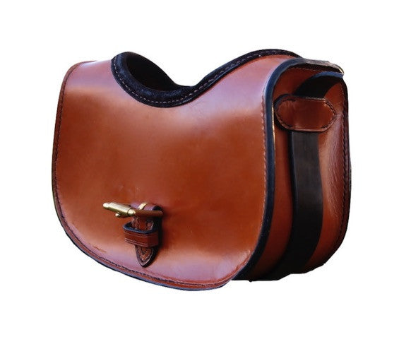 Luxury Leather Cartridge Bag