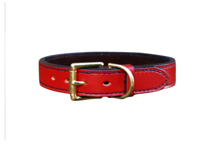 Lined Dog Collar - Vaux & James