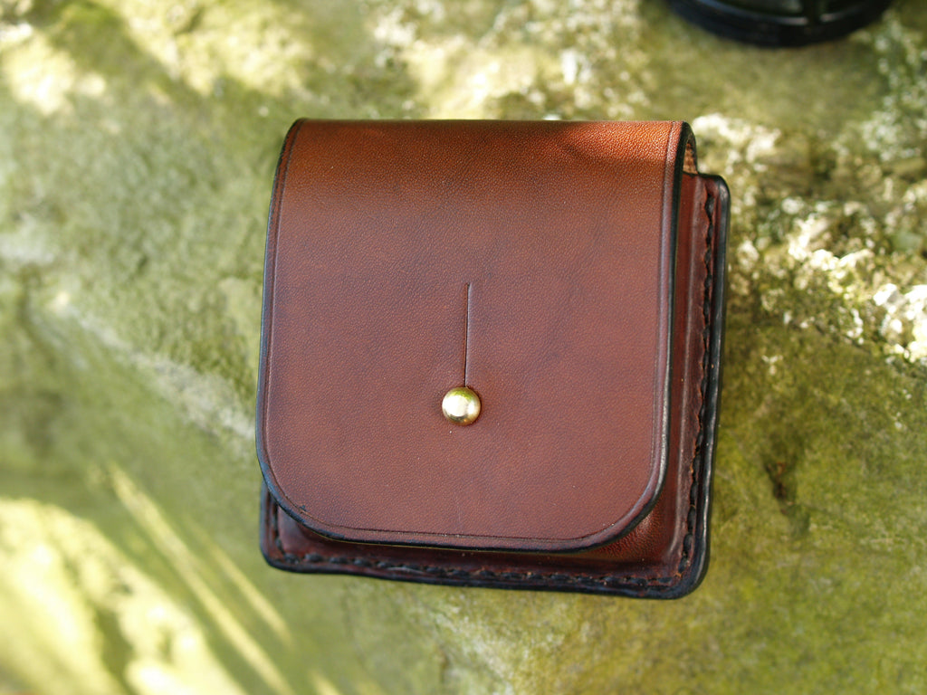 Leather Pocket Watch Case