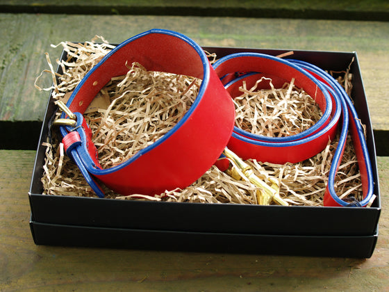 Red Blue Edge Lurcher Set