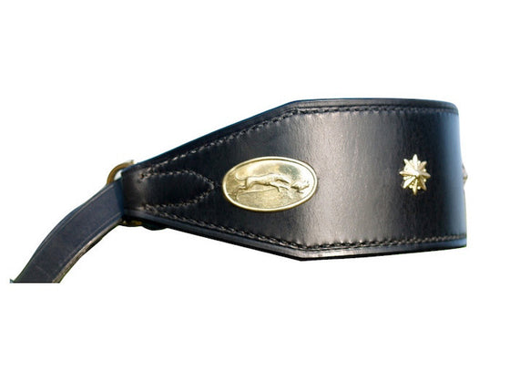 Lurcher Martingale Set - Brass Decorated