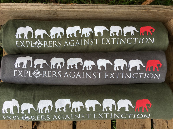 Explorers Against Extinction Tshirt