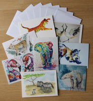 Giftcards - Set of 8 art cards