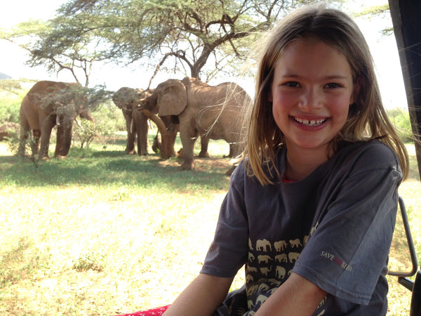 Charity T-shirts - sold in aid of Save the Elephants